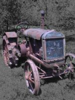 Steel Tractor by canis7