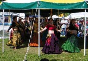 Belly Dancers at the Medieval Fair 05 by wolf74145
