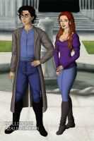 Harry Potter and Ginny by Kailie2122