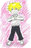 Uzumaki Bolt by TheZoe611