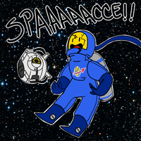SPAAAAAAAAAAAAACE!!!!!!!! by DapperDoom