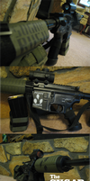 I also do Airsoft :P by UrpleB3atin