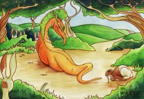 Benny And the Carrot Dragon by Falloway