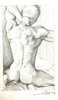 Male figure scetches by sherwin-prague