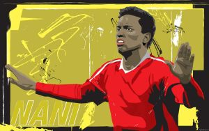 Luis Nani Wallpaper by parka