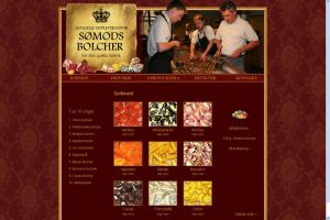 Royal Candy Shop Webdesign by nadda1984