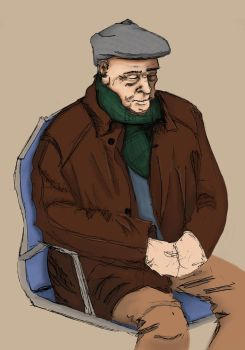 Old Man color try by Bixyz