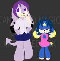 Monsters by mewgal