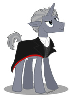 12th Doctor Pony III by MicroGalaxies