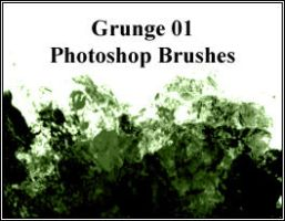 Grunge01 BRUSHES by dangerous-pea