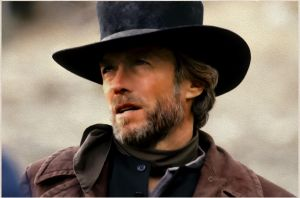 Pale Rider-Eastwood(Digital Painting) by chamirra