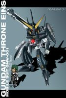GNW-001 Gundam Throne Eins by ArtNotHearts