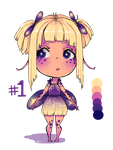 Palette #1: alien girl Auction [CLOSED] by Coffee-Kiyo