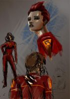 Concept Character Red by Liquid-86