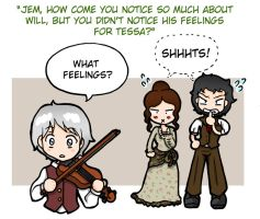 The Infernal Devices - Questions and responds 3 by Felwyn