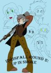 Idrisfall Round 2: Cover Page by DeviousVampire