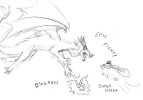 EPIC FIGHT by RiceGnat