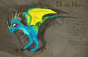 Deadly Nadder by ToxicKittyCat