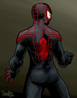 Ultimate Spidey by artistjerrybennett