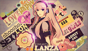 Tag Girl Collage by LanzaDesigner