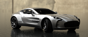 Aston Martin One-77 by Ajaxial