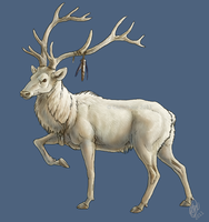 White Elk by chenneoue
