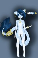 single anthro adopt 22 by adoptableluvr