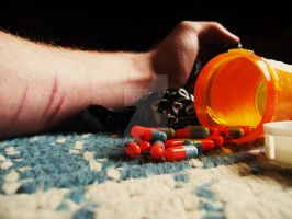 Pills and the past by Alcatraz71489