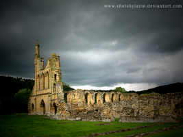 Byland Abbey Wallpaper by shotsbylaine