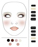 Make-Up and Nails Chart - Lolita Meet 11.01.14 by Ninelyn