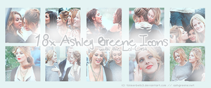 Ashley Greene Icon Set 'LoL' by Tiinkerbellx3