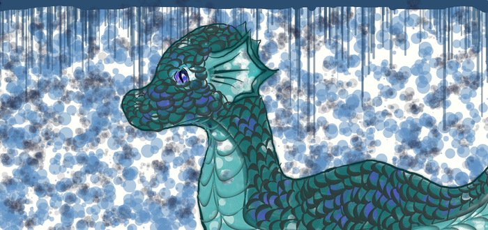 Water Dragon by Flowr01001