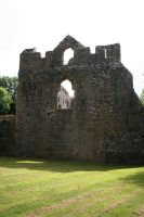 Lamphey Bishops Palace 10 by GothicBohemianStock