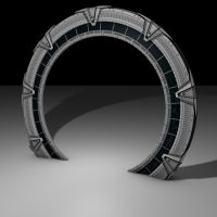 Stargate Model WIP 3 by Stefan1502