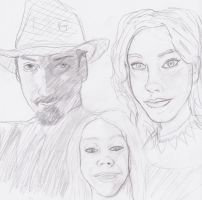 Shannon and Family by Asderathos