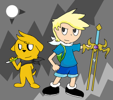 Finn and Jake by Lucas47-46