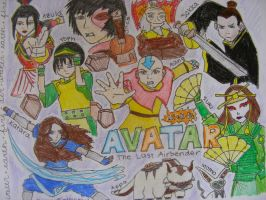 Team Avatar...and Other People by sleepyzebra