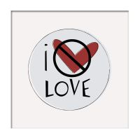 I don't love love by pigtailtees