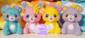 Felted group by Cosmiccuties