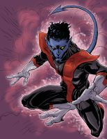 Nightcrawler colors by BDixonarts