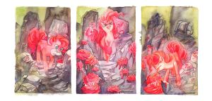 MLP Pinkie Pie's Rock Garden by blix-it