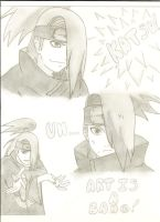 Deidara Sketch by xXEpicEmoXx