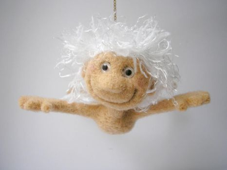 #felted #angel by pushok1983