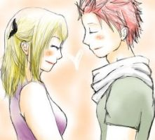 FT Sketch NaLu by fanoffmangas