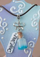 Drink Me Bottle Necklace by IvrinielsArtNCosplay