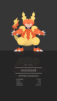 Magmar by WEAPONIX