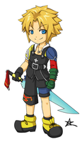 Tidus by thiefXrikku