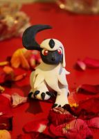 Absol Figurine by Dapper-Dog