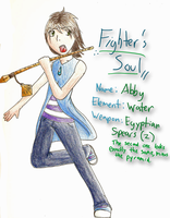 Fighter's Soul: Abby by LucarioGirl4Ever