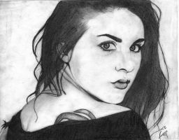 Frances Bean Cobain Love by JackFrostBlack